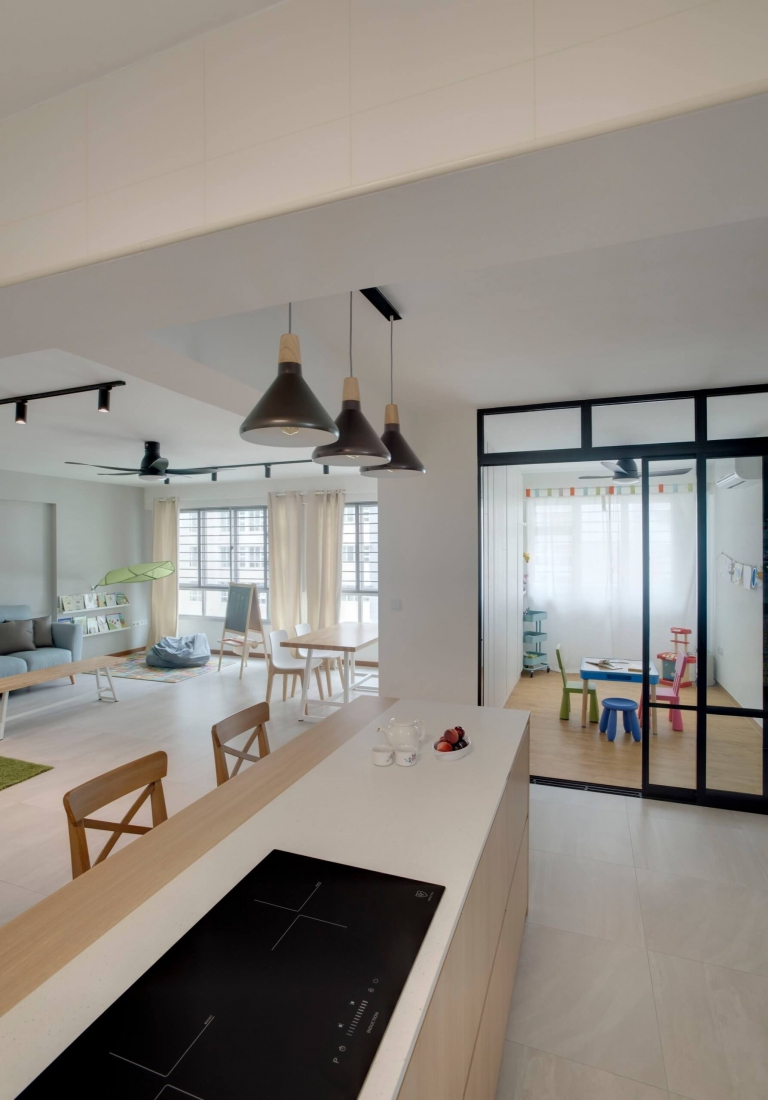 """HDB Design– FOR MY SWEET CHILD @ SUMANG LANE - 3"""