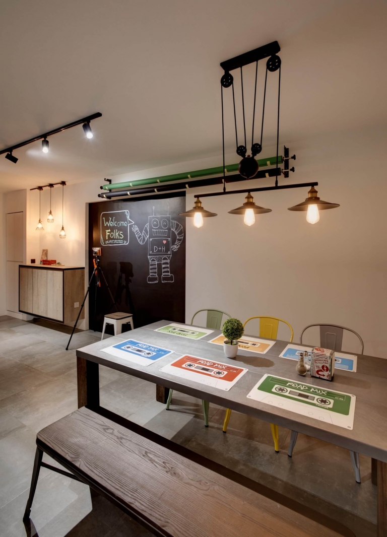 """""""HDB Design– INDUSTRIAL MAKEOVER @ FERNVALE LINK - 5"""""""