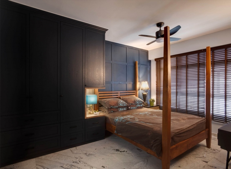 """HDB Design — TRADITIONAL CHIC @ COMPASSVALE CRESCENT - 4"""