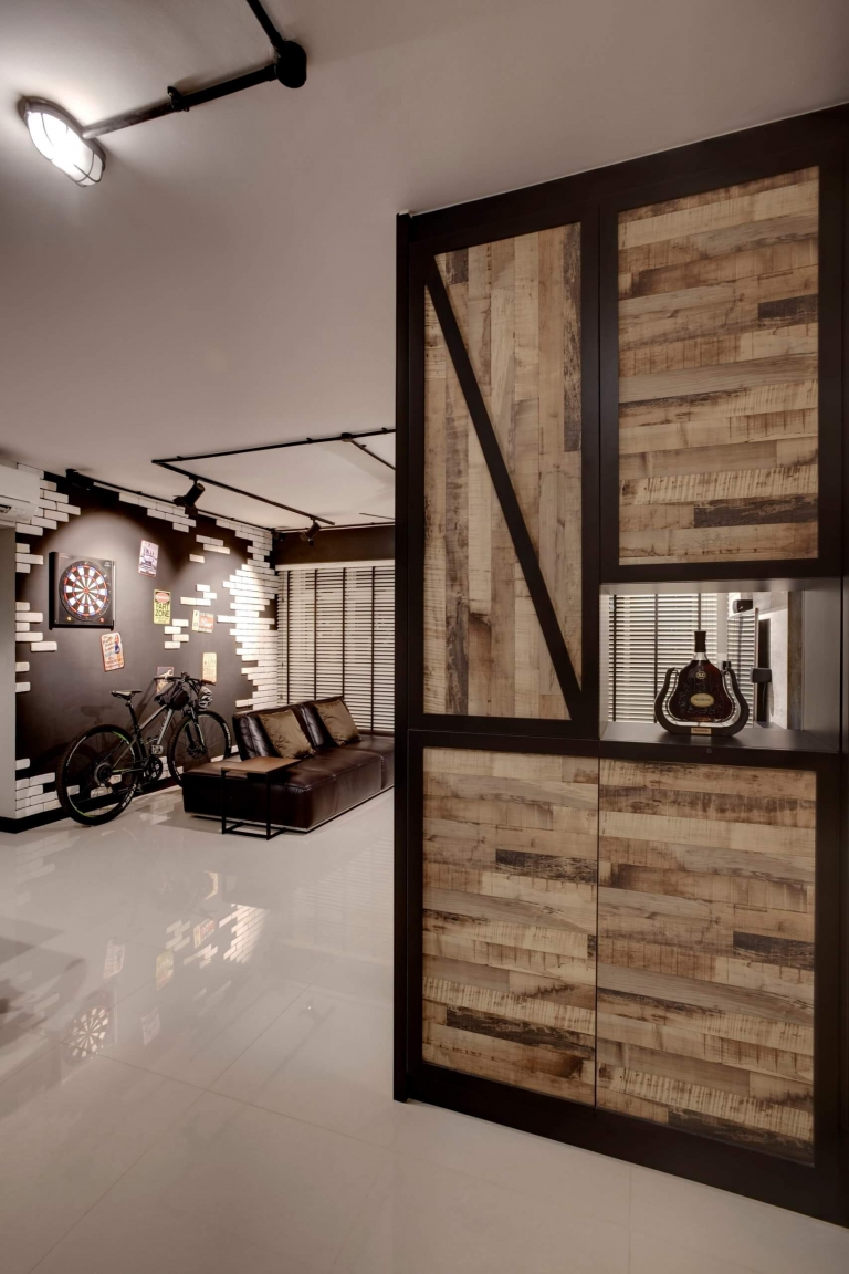 """HDB Design — WAREHOUSE CHIC @ PUNGGOL DRIVE - 3"""