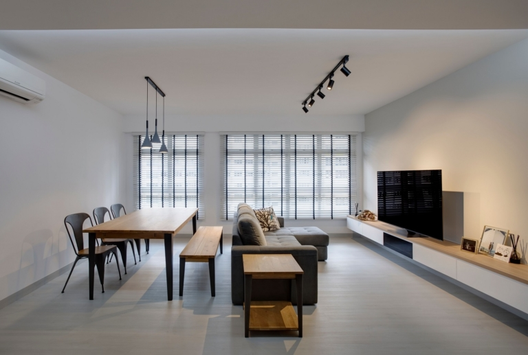 """HDB Design– MINIMALIST DESIGN @ BUKIT BATOK WEST - 4"""