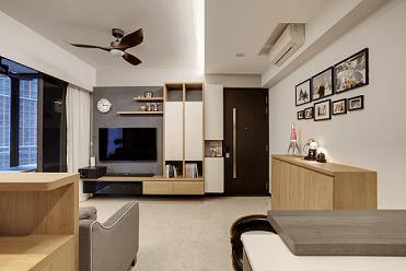 Neat and Sleek Living Room @ Sims Urban Oasis