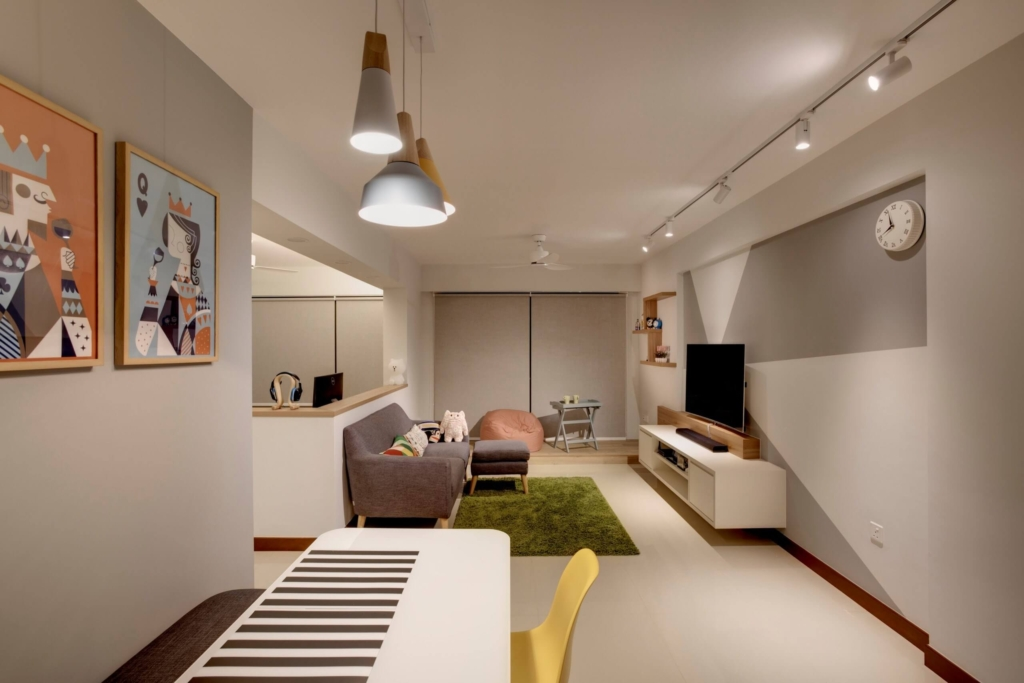 SpaceFactor Interior Design Style Beautiful Home at Punggol, Singapore