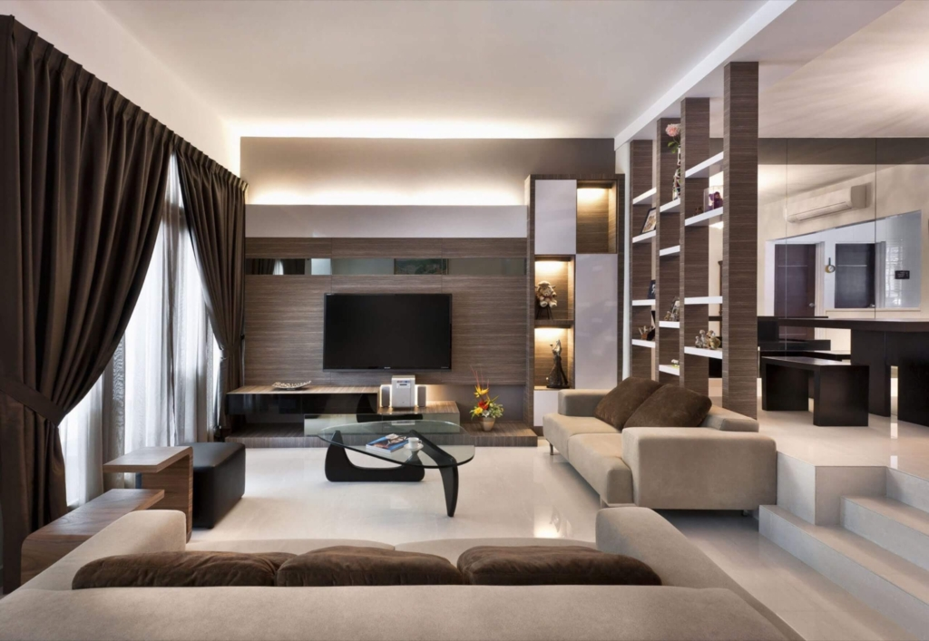 Sunny And Airy Living Room at Joo Chiat Avenue, Singapore