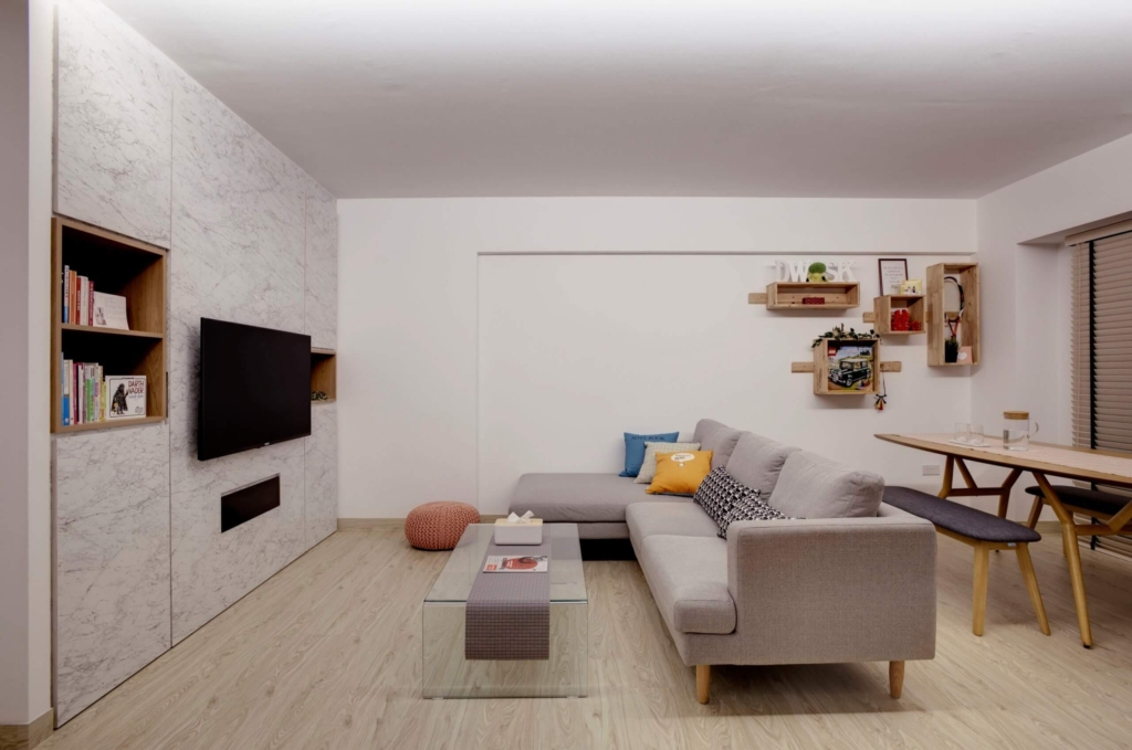 Spacious Living Room at Cantonment Road, Singapore