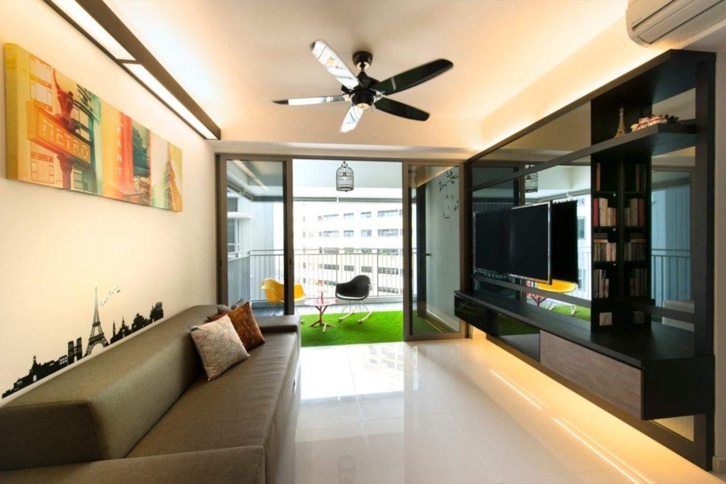 Cool Interior Design at Toa Payoh, Singapore