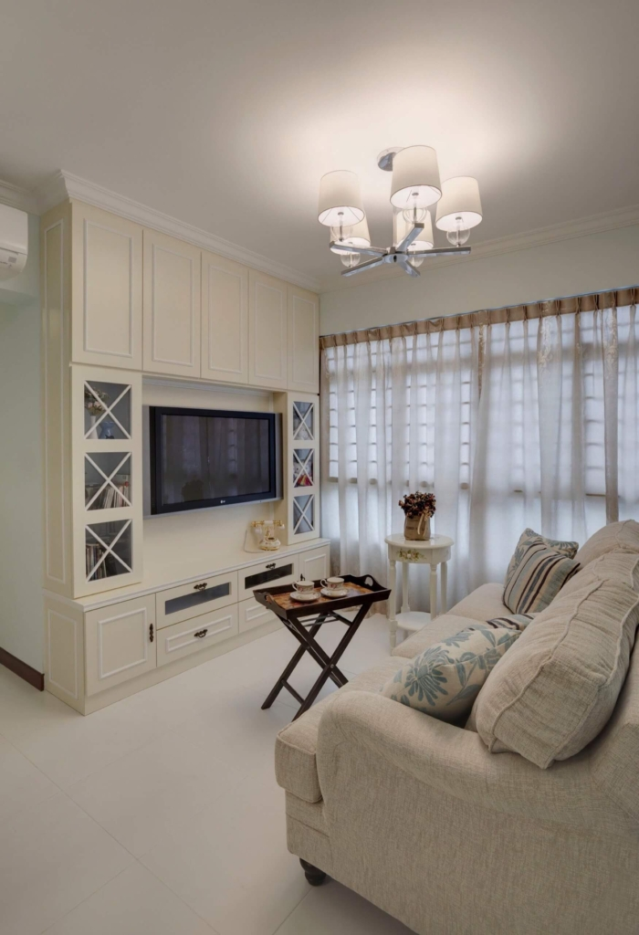 Beautiful Living Room at Punggol Central, Singapore