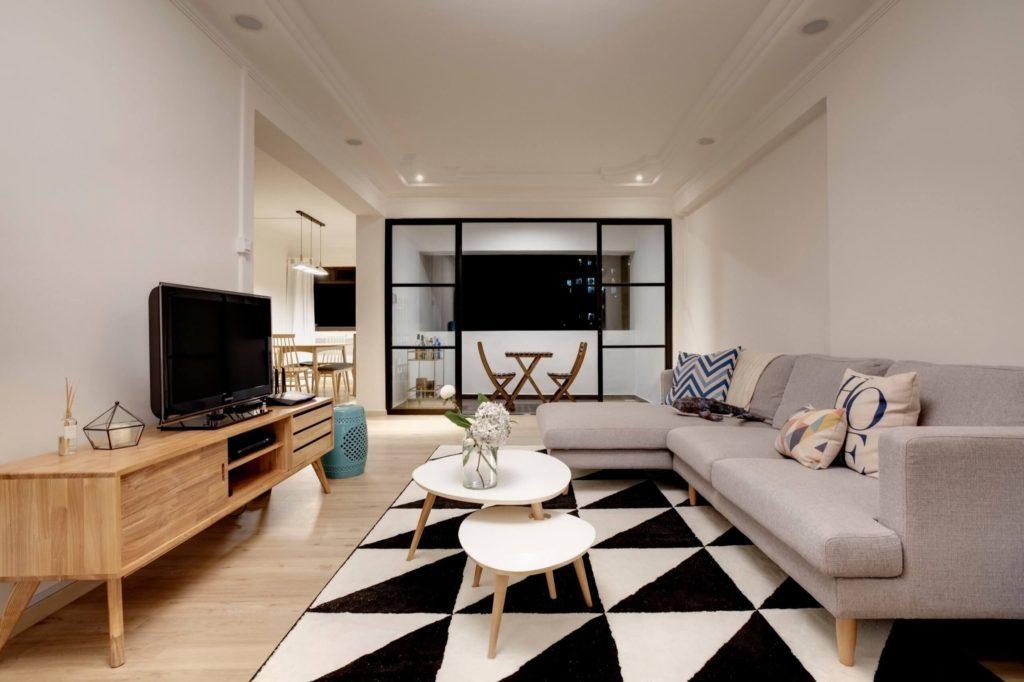 Swss Interior Design Modern Interior Design at Gangsa Rd, Singapore