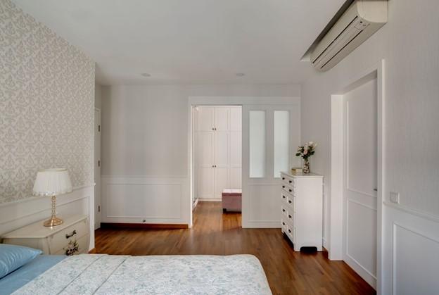 Scandinavian White Bedroom @ Bedok Reservoir